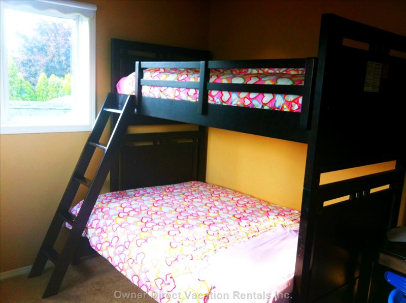 The Bunk Room with Twin and Double Bed.