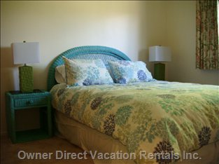 The Three Bedrooms Have Large Closets and Comfortable Beds.