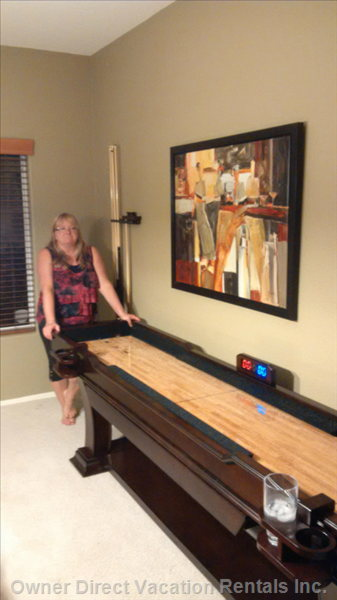 There is Even a Shuffleboard!