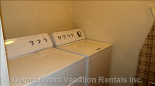 Laundry Room for your Convenience---Located off of the Kitchen.