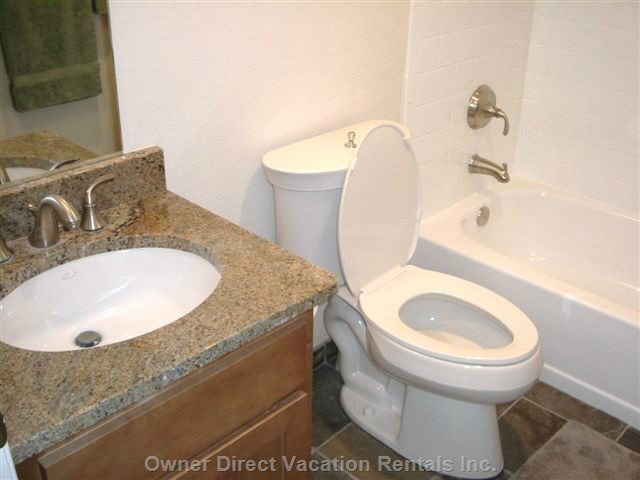 2nd 3 Piece Bathroom (Granite Counters)