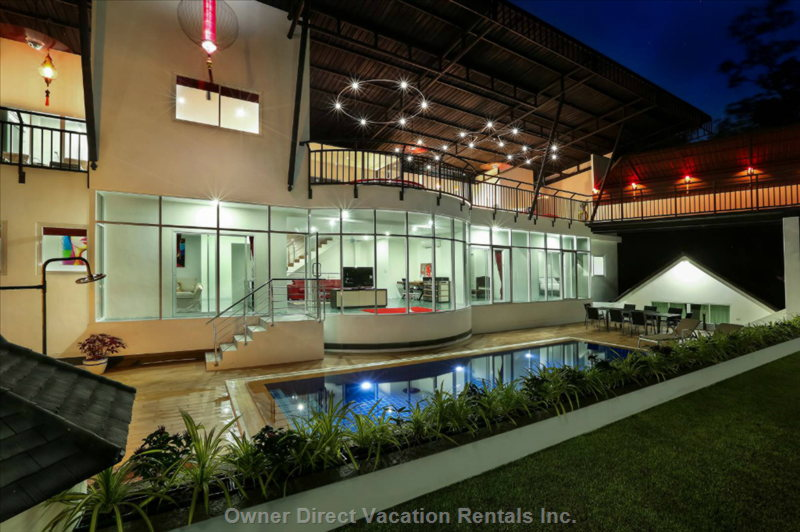 Night Time Villa