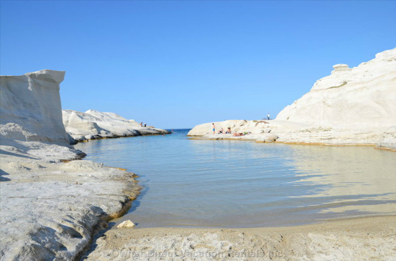Sarakiniko, the Exciting Lunar like Beach (7 Km)