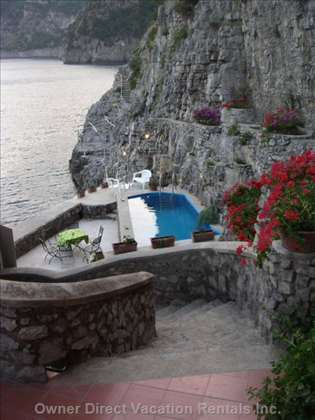 Pool and Private Access to the Sea