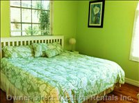 Tropical Green Guest Bedroom 3- Queen