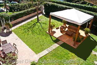 Private Garden with Gazebo