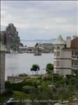 Victoria Harbour View and beyond to the Olympic Mountains (View from our 30' Balcony) Empress Hotel a 7 Minute Walk from your Condo