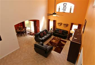 Luxury 5 Bedroom 4 Bath Villa in Emerald Island Resort – 3 Miles Drive to Disney