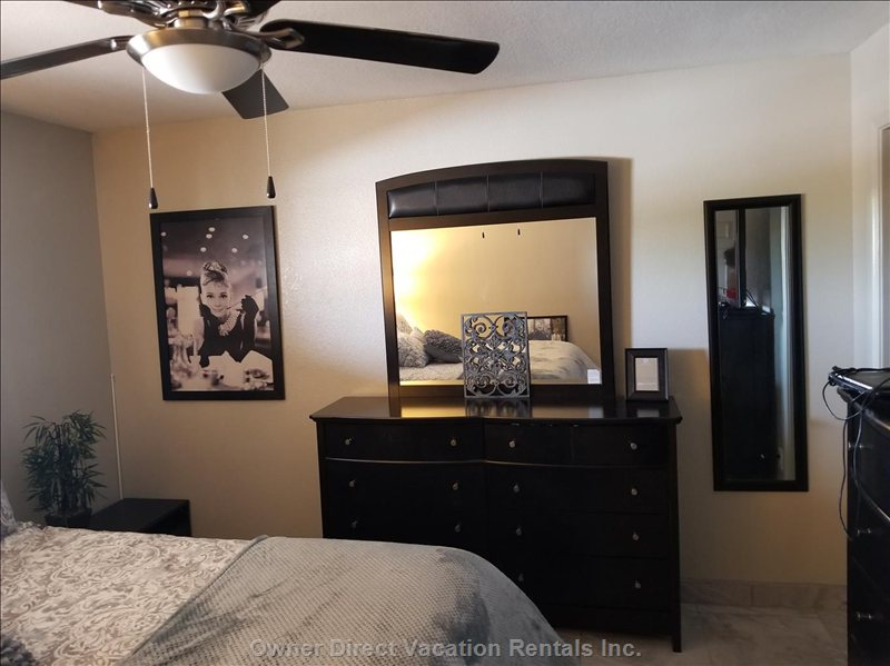 Bedroom Furniture with California King Sized Bed