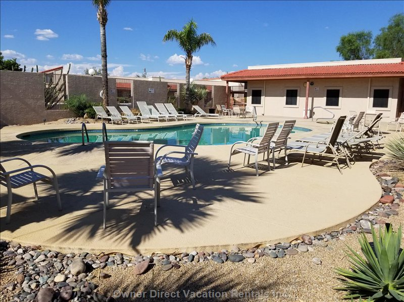 Heated Pool, Hot Tub, Palm Trees, Chaise Loungers:)