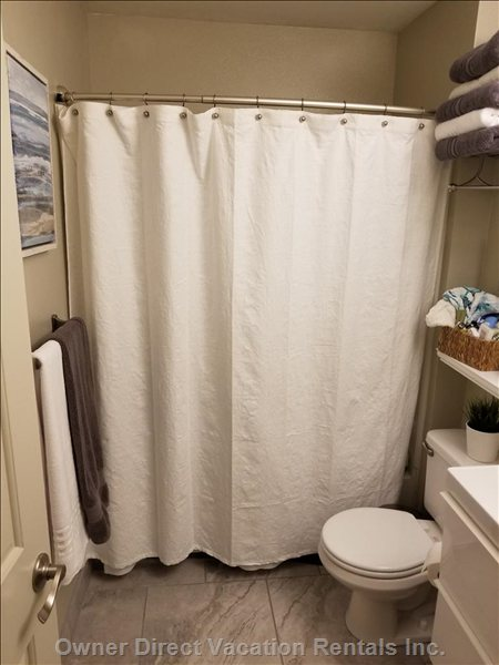 New Bathroom with Amenities