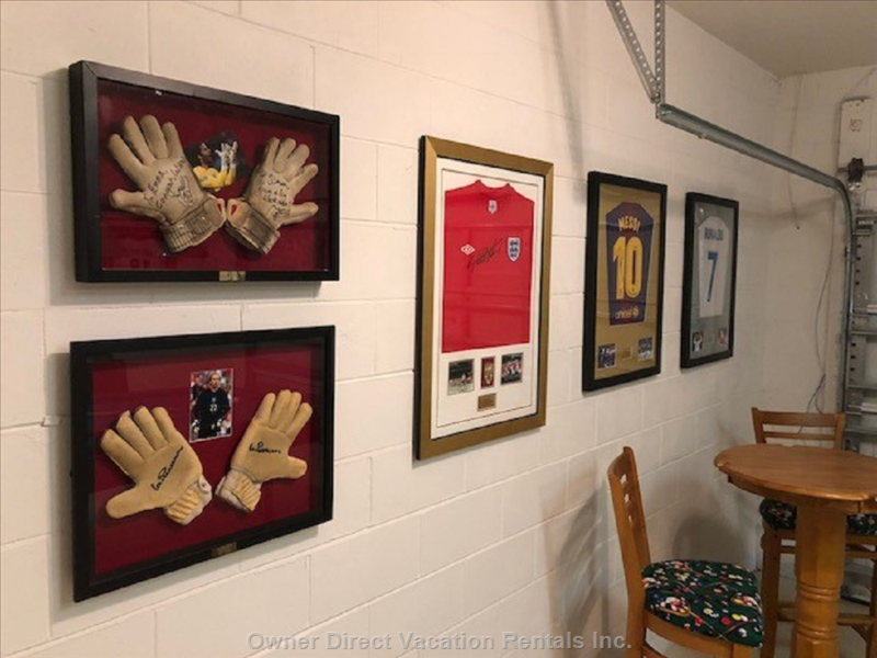 Football Themed Memorabilia