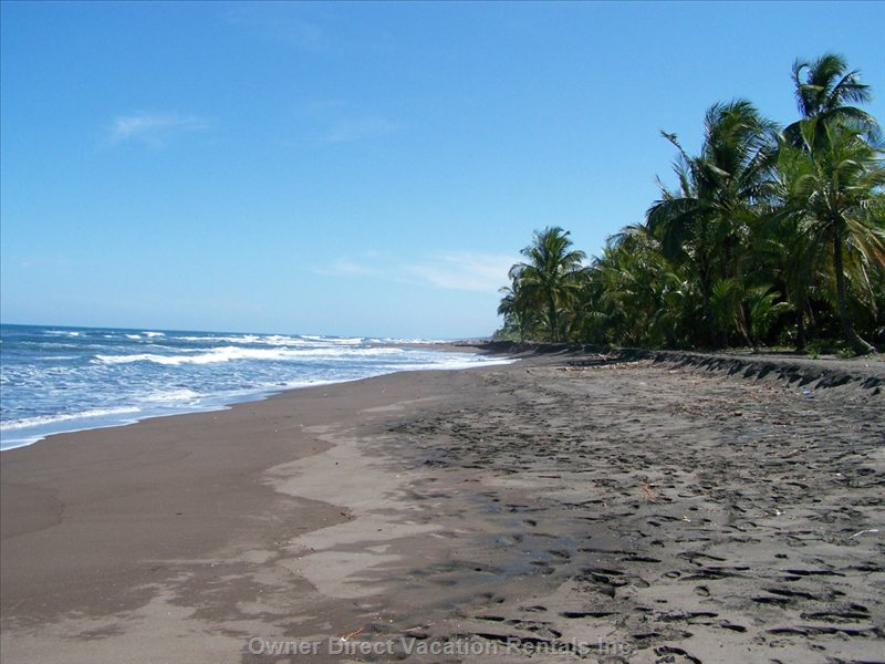 300 Yards from Villa - this View of Playa Bejuco