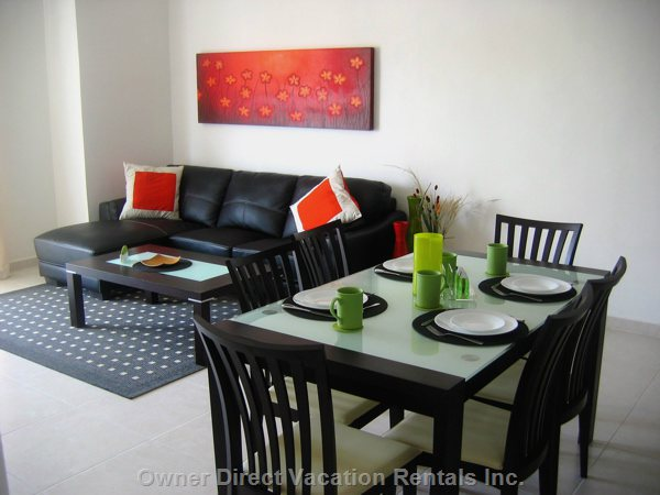 Modern Living/Dining Area