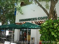 Playa Car - 2x Starbucks for those that Need a Coffee Fix; Located 4 Min Walk from the Complex in either Direction.