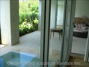 The Plunge Pool in your Balcony