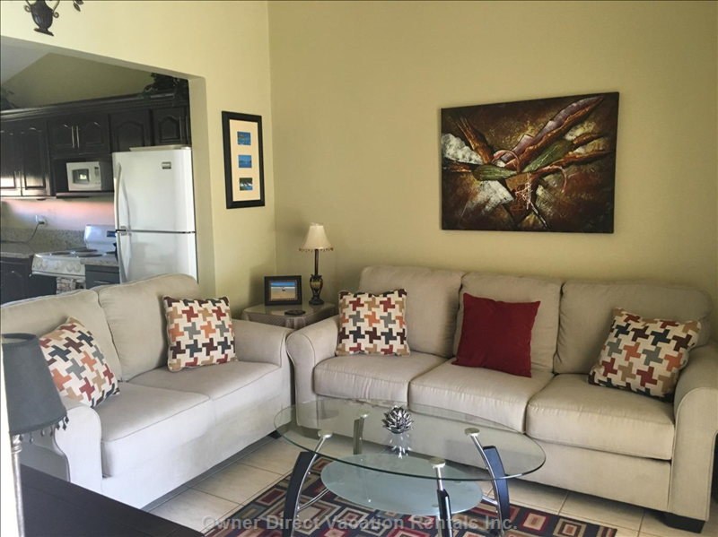Brand New Living Room Sofa and Loveseat