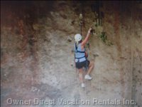 Zip Lining and Climbing