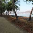 New Walkway along the Beach in Playas Del Coco (Great for an Early Morning Run)