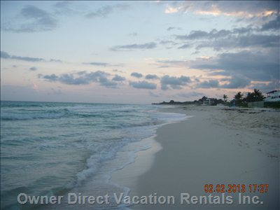 This is your Private Beach!!!  Watch the Sunrise Or Sunset Or Just Catch some Rays!!