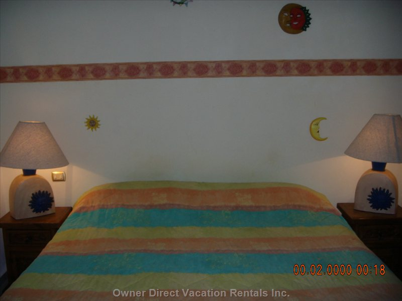 King Size Master Bedroom Awaits you on your Restful Vacation Or  after a Long Day Exploring and Enjoying the Beach!!!