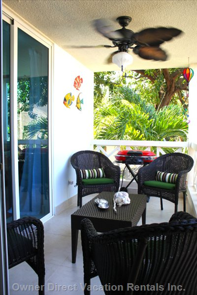 Enjoy the Ocean Breeze in your Private Lanai