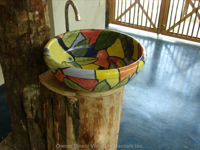 Beautifully Handmade Sink