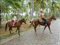 Horseback Excursions on the Beach Await Guests of all Ages.