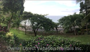 Beach in Front of the Villa - about 35 Meters - Closest in Costa Rica