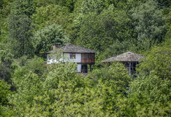 Bulgarian Rural House in the Remote Nature