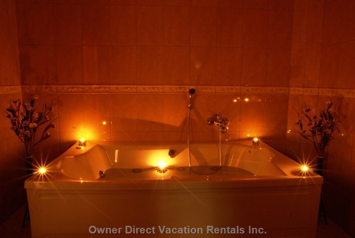 Big Bathroom with Candles