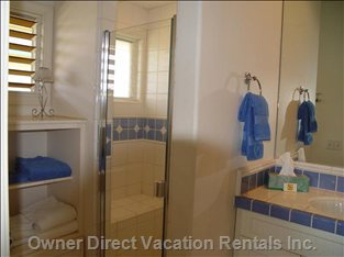 Suites Private Bath, with Walk in Shower
