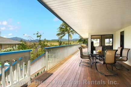 Expansive Lanai for you to Enjoy the Wonderful Views around