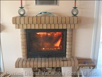 Eco-friendly Closed Fireplace