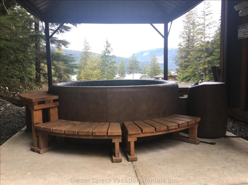 Your Secluded Hot Tub, and its View.