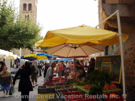 Market Day in Prades, October