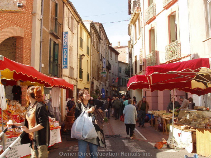 Market Day in Prades - March
