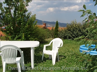 Our Garden Offers a Great View Too. we Provide a Set of Garden Furniture. There is Also a Bbq Corner