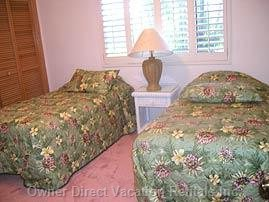 One of Two Twin Bed Rooms