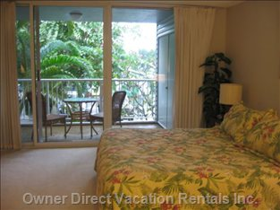 Master Bedroom and Lanai