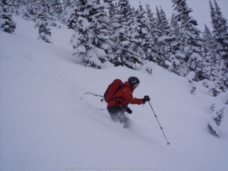 Great Powder Skiing:  Discounted Ski Pass Packages.