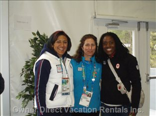 Gold and Silver Medalists: Womens Bobsled