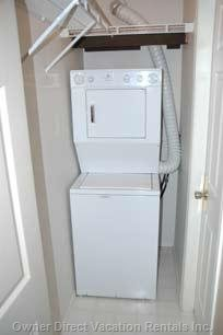 In-unit Washer & Dryer