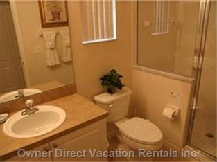 Typical 5 Bedroom Bathroom - There Are 2 Master Bathrooms and one Family Shared Bathroom
