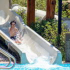 Water Slides at the Springs Pools