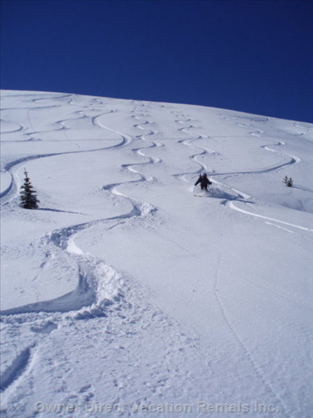 Skiing Back Bowls- your Host is a Ski Instructor and the other is an Avid Back Country Ski Enthusiasts!