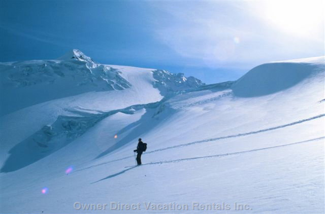 Back Country Skiing - your Hosts Have Been Exporing this Vast Area for over 24 Years!