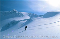 Back Country Skiing - your Hosts Have Been Exporing this Vast Area for over 20 Years!