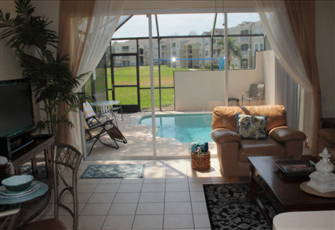 3 Bedroom, 3 Bathroom Townhouse, Private South Facing Pool, Open to Green Space