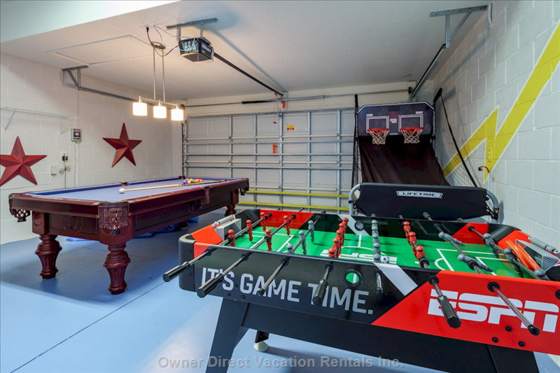 Fussball and Electronic Basketball Game